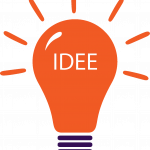 Idee-Bulb Oranje